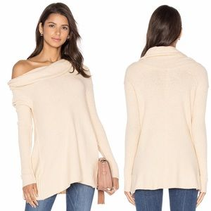Free People | Off the Shoulder Sweater Cream M
